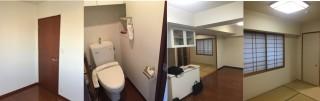 高幡不動T様邸 壁紙貼り替え、照明増設工事